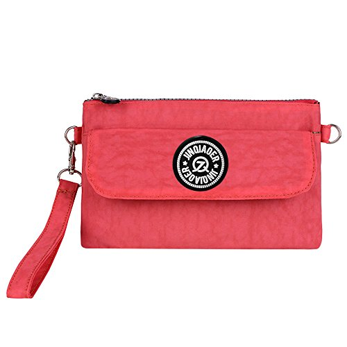 Wiwsi Women Phone Money Pocket Pouch Purse Nylon Casual New Design Clutch Bag