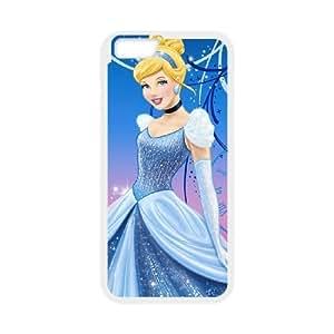 iphone6 4.7 inch White phone case Disney Cartoon Characters Cinderella DMU5274441