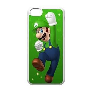 iPhone 5c Cell Phone Case White Super Mario Bros SLI_640101