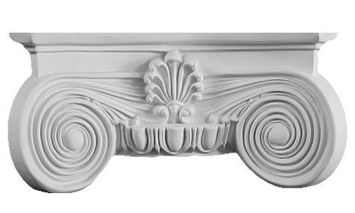 DreamWallDecor Decorative Interior Column - Whole Capital Made from Dense Architectural Polyurethane Compound 7 inch Shaft
