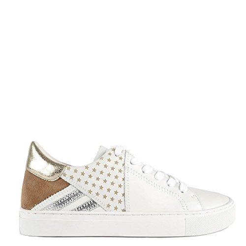 Olivia Trainer White B Wilde Leather Elia Shoes White and AqEWZO