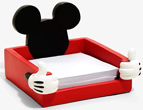 (Disney Mickey Mouse Ears Notepad Holder, 3 5/8 Inch)
