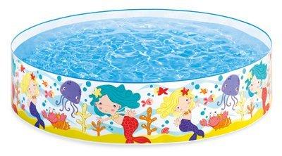 Intex Mermaids by The Sea Kids 6 x 15 Instant Kiddie SnapSet Swimming Pool