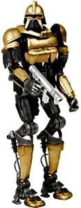 Battlestar Galactica Gold Pilot Cylon Figure