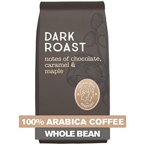 Coffee Bros., Dark Roast Coffee, Whole Bean, Smooth & Never Bitter, 100% Arabica Coffee, 12oz