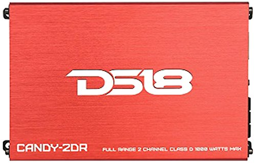 DS18 CANDY-2DR Full Range 2 Channel Class D 1000 Watts Max Mini Amplifier (2dr Air)