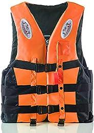 amuzer Life Jacket, Float Vest Swimming Buoyancy Aid Safety Float Jacket, with Night Vision Reflective Strips,