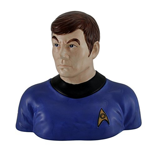 Westland Giftware Ceramic Cookie Jar, 10-Inch, Star Trek Dr. Mc Coy by Westland Giftware