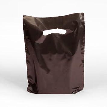 Amazon.com: De color café de plástico bolsas de plástico 15 ...