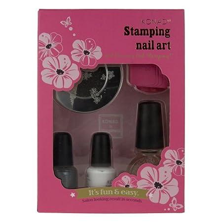 Amazon konad konad stamping nail art t set konad nail amazon konad konad stamping nail art t set konad nail stamping kit beauty prinsesfo Gallery