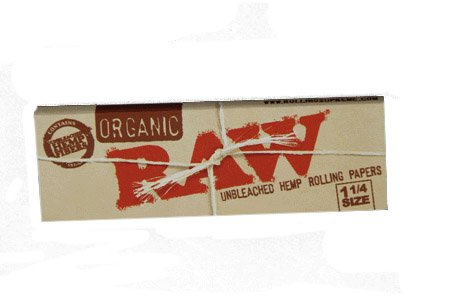 Price comparison product image RAW Organic Unbleached Hemp 1¼ Rolling Papers