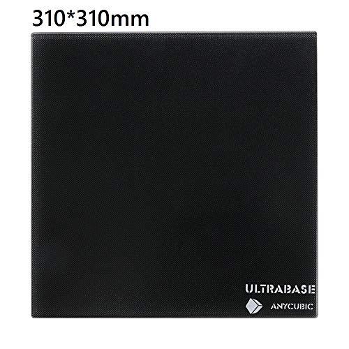 ANYCUBIC Ultrabase 3D 프린터 유리 스파 침대 CR10 용 플랫폼가지고 가기 쉽다 핫 플레이트 복합 코팅 유리 프랫 끼우기만 310x310mm / ANYCUBIC Ultrabase 3D Printer Glass Hotbed FOR CR10 Easy To Take Hot Plate Composite Coated Glass Pratt...