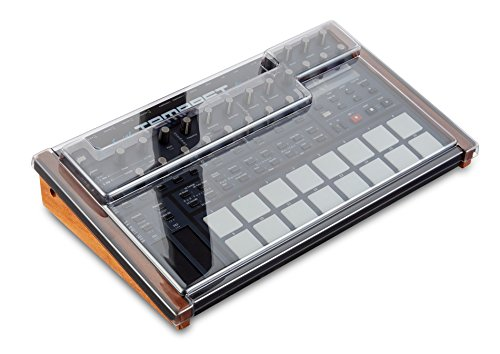 Pro Keyboard Road Case - Decksaver Dave Smith Instruments Tempest Impact Resistant Polycarbonate