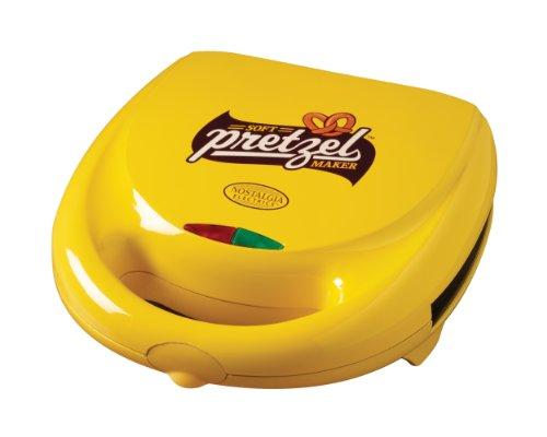Nostalgia Electrics SPM400 4-Pretzel Soft Pretzel Maker