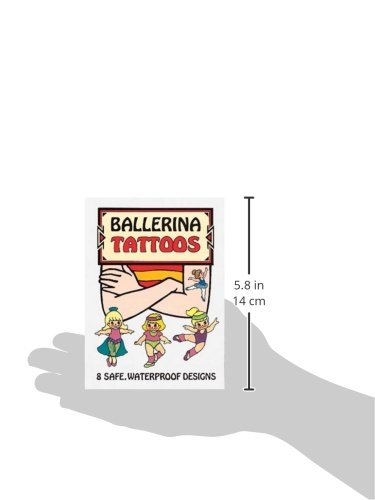 Ballerina Tattoos (Dover Tattoos)
