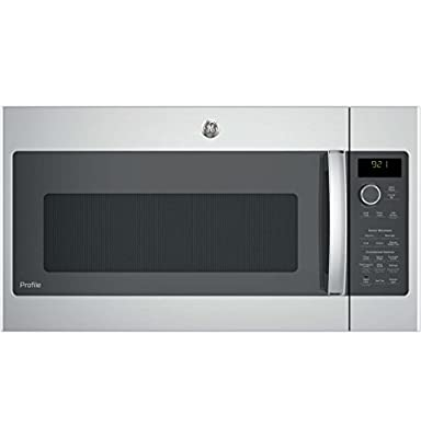 """GE Profile PNM9216SKSS 30"""" Over-the-Range Microwave Oven in Stainless Steel"""