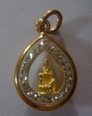 Goddess Quan Yin Pendant - San JewelryPendant Necklace Buddhist Goddess Kuan Yin (Quan Yin) Pendant Statue Thai Buddhist Monks Blessed for Fortune Good Luck Success & Good Protection