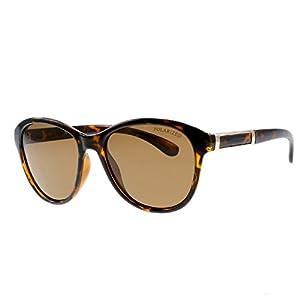 Polarized Sunglasses New Rounded Women's Classic Vintage Sunglasses Men's Driving Glasses,Tea tablets