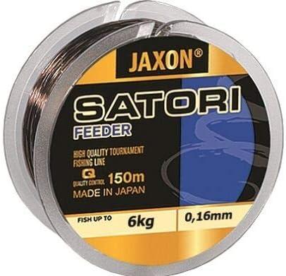 0,16-0,35mm Spule Monofile Feederschnur schnell sinkend Schnur Jaxon Angelschnur Satori Feeder 150m