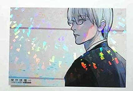 Amazon.com: Tokyo Ghoul :re Bonus Card Hologram Kisho Arima ...