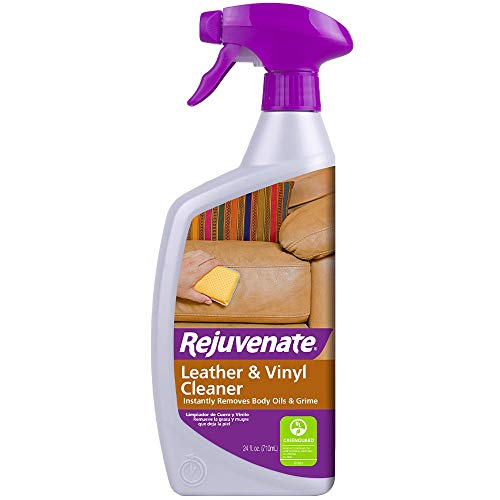 Rejuvenate Leather & Vinyl Cleaner - Rehydrate, Restore Luster and Protect All Leather & Vinyl Surfaces with No Greasy Residue