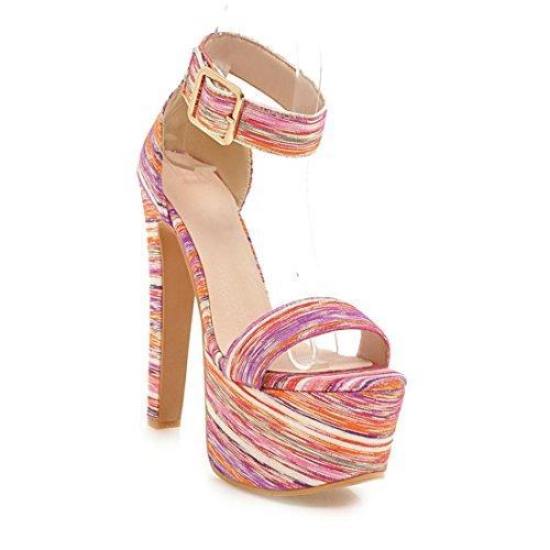 e i rosa piedi sexy dei a sandali i tacchi signore sandali i sandali spillo dita 32 sandali wqTFHgc7XZ
