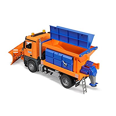 Bruder MB Arocs Snow Plow Truck: Toys & Games