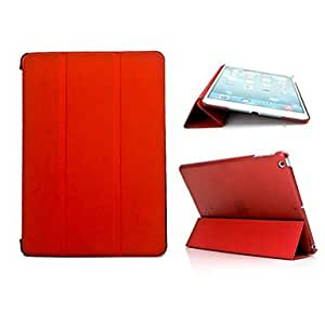 AES - Elegant Design Rotating PU Leather Case with Stand for iPad Air iPad 5 (Assorted Color) , Green
