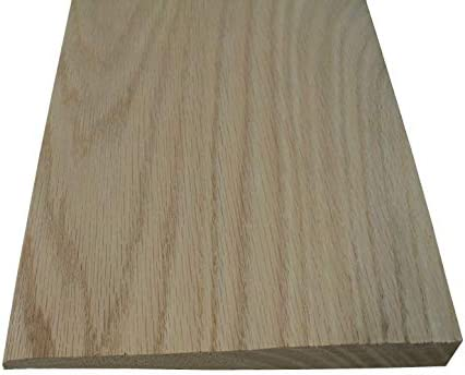 Solid Hardwood Interior Thresholds Style D 48 Inches Long Red