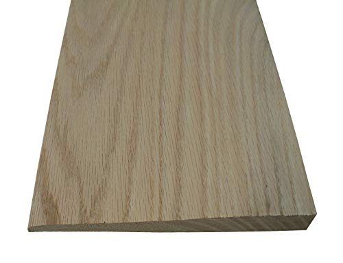 Solid Hardwood Interior Thresholds - Style D - 48 inches Long- Red Oak