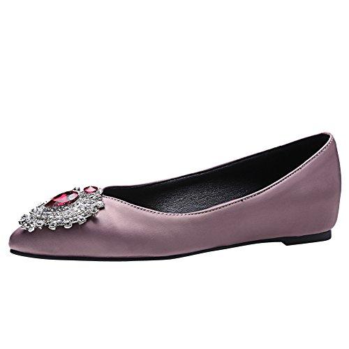 Latasa Damessierstenen In Lage Wiggen Balletschoenen Schoenen Roze