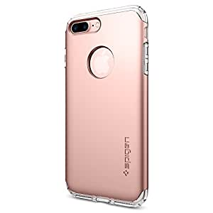 Spigen Hybrid Armor iPhone 7 Plus Case with Air Cushion Technology and Drop Protection for Apple iPhone 7 Plus 2016 - Rose Gold