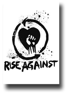 (Rise Against - This Is Noise - Fist Punk 11x17 Poster)