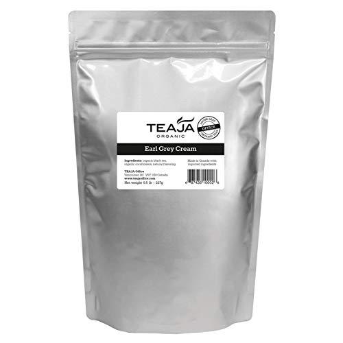 Teaja Organic Loose-Leaf Tea, Earl Grey Cream, 8 Oz Bag by Teaja (Image #1)