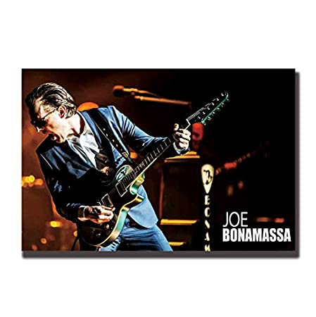 NOVELOVE Imagen de Arte de Pared Joe Bonamassa Rock Singer ...