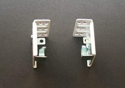 Kirsch Superfine Single Rod End Brackets Small ()