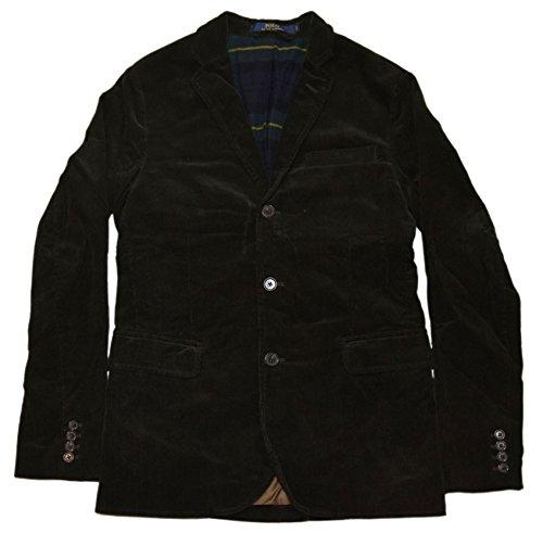 Polo Ralph Lauren Men Corduroy Sport Coat Blazer Jacket Lined Olive Green (Ralph Lauren Corduroy Blazer)