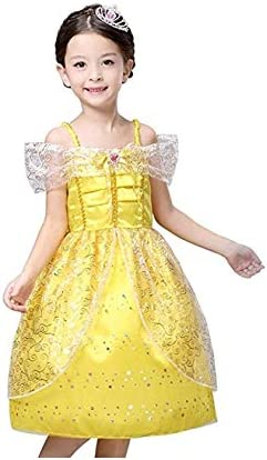 Little Girl Princess Belle Dress Costume Just $7.00!