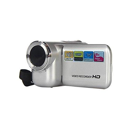Digital Camera, Anxinke 1.5-Inch TFT Color Screen 16MP 720P 8X Digital Zoom HD DV Video Recorder Camcorder Camera (SILVER)