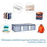 Seckon Underbed Storage Bags Container