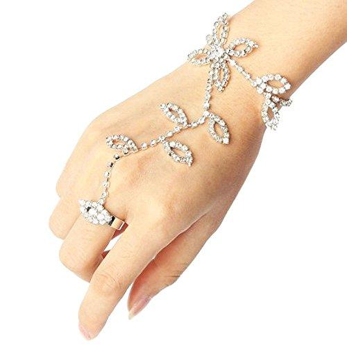 yueton Rhinestone Harness Bracelet Accessories