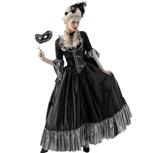 Masquerade Ball Queen Costume - (Belle Costumes For Teenagers)