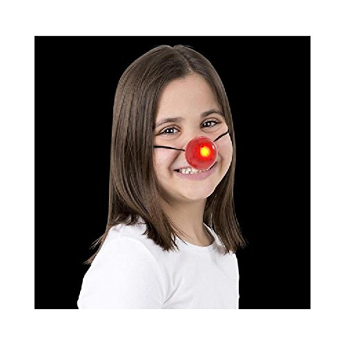 Blinking Reindeer Nose (With Sticky Notes)