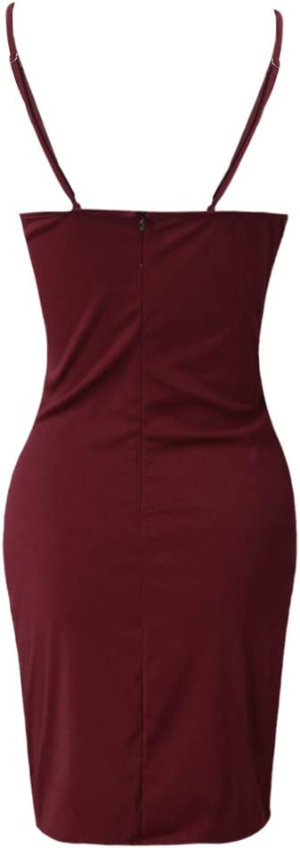 Black,XL Tight Dresses For Womens Bandage Bodycon Formal Work Evening Party Pencil Mini Dress Slim Dress For Anniversary,Party,Valentines Day