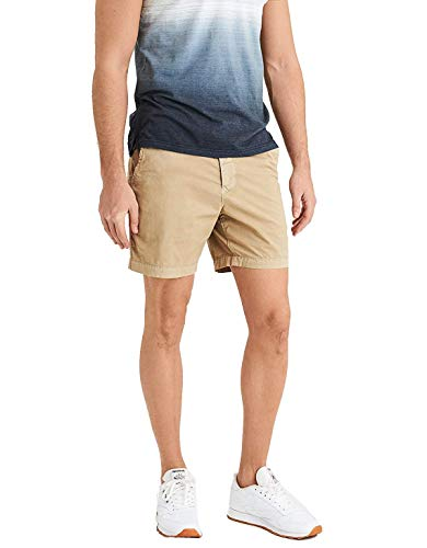 - American Eagle Mens Next Level Flex Above Knee Slim Khaki Shorts (34W)