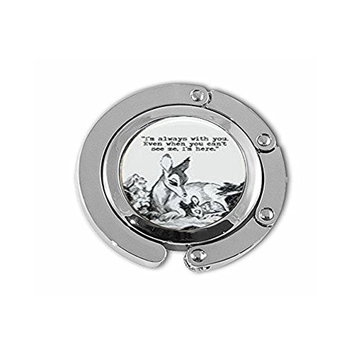 Oval Bambi & Mother 'Always with You' Quote Dome Hanger ()