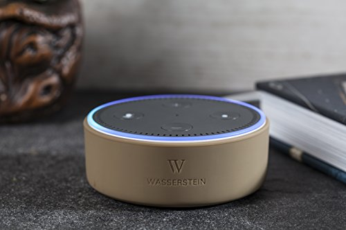 Price comparison product image Echo Dot Silicone Skin by Wasserstein (Tan)