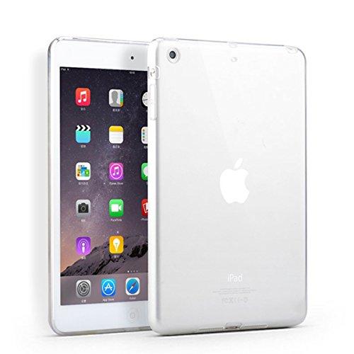 Silicone Clear Case for Apple iPad Mini 1/2/3 (Clear) - 9