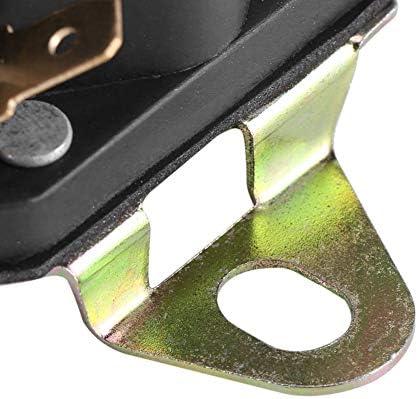 Zetiling Anlassermagnet Universal Anlassermagnet 12 V Rasenmäher Magnetschalter Teileverwendung Für Zubehör 109946 146154 1753539 Am138497 33 331 Küche Haushalt