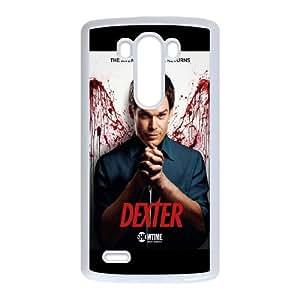 Dexter Blood LG G3 Cell Phone Case White JU0980478